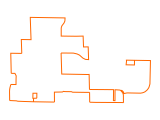 Map showing location of Orange Main